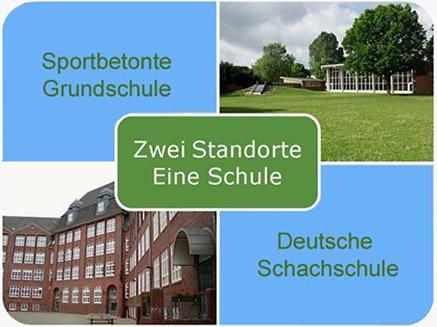 Zwei Standorte - eine Schule