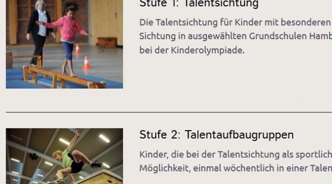 Talentförderung des Hamburger Sportbund e.V.