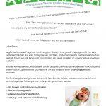 Infoblatt Ernährungsberatung