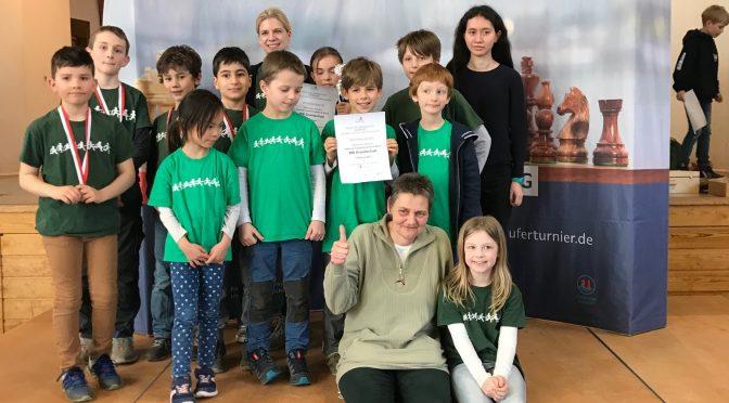 Riesenerfolg beim Schulschachpokal 2019