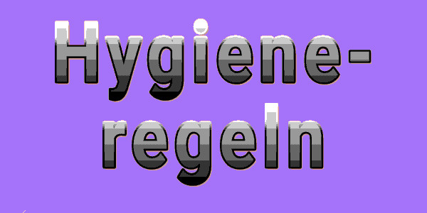 Hygieneregeln zum Schulstart ab 6. August 2020